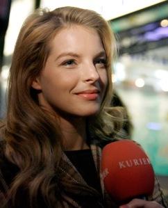 """Yvonne Catterfeld bei der Österreichpremiere von """"Das Leben ist zu lang"""" im Wiener Gartenbaukino"""