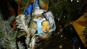 Obama Christmas ornament