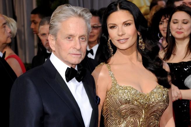 Michael Douglas And Catherine Zeta-Jones Split