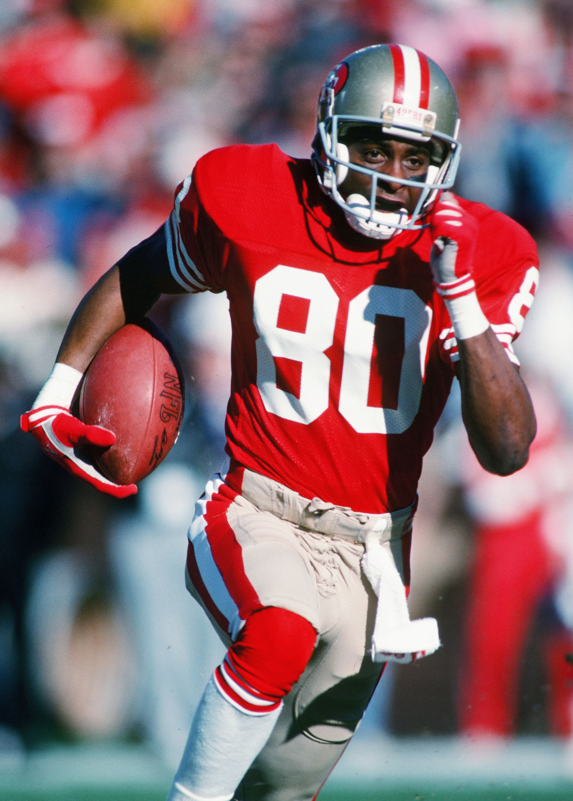 jerry rice During the late 1980s, a friendly and accommodating jerry rice signed often for his fans he penned a simple.